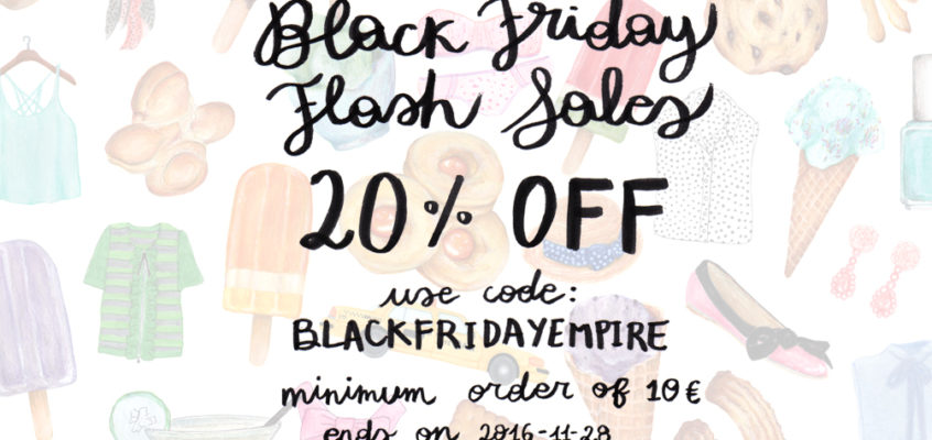 BLACK FRIDAY FLASH SALES!